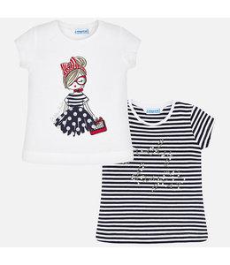 MAYORAL | Set van 2 t-shirtjes