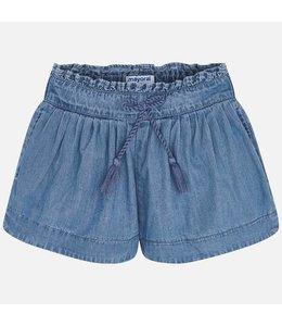 MAYORAL |  Shortje in jeanskleur - Blauw