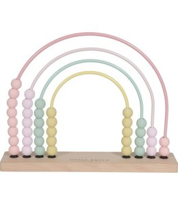 LITTLE DUTCH | Houten telraam - Pink