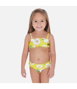 MAYORAL | Bikini met bloemdetail - Geel