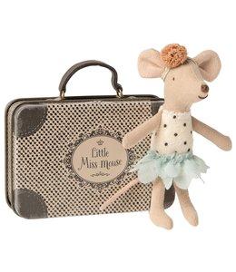 MAILEG | Maileg Kleine  Miss muis in koffer - Kleine zus 10 cm