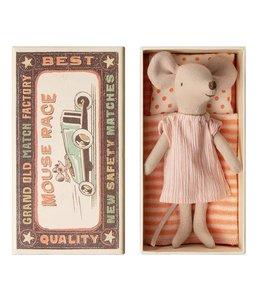 MAILEG | Maileg Grote zus muis in doosje - 13 cm