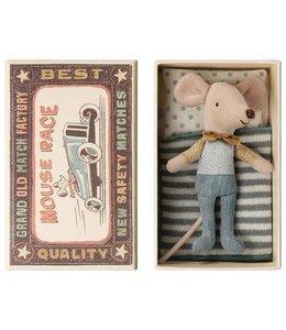 MAILEG | Maileg Kleine broer muis in doosje - 10 cm