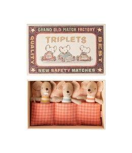 MAILEG | Maileg Baby Tweeling in doosje - 7,5 cm