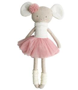 ALIMROSE | Missie grote zus muis ballerina - Blush