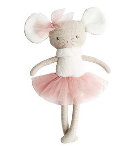 ALIMROSE | Missie muis ballerina - Blush