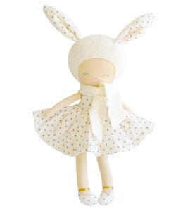 ALIMROSE | Belle konijn pop - Gouden stipjes