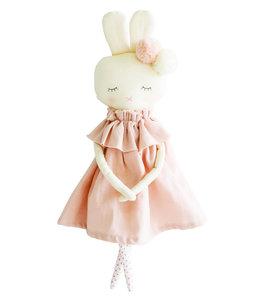 ALIMROSE | Isabelle konijn - Pink Linnen