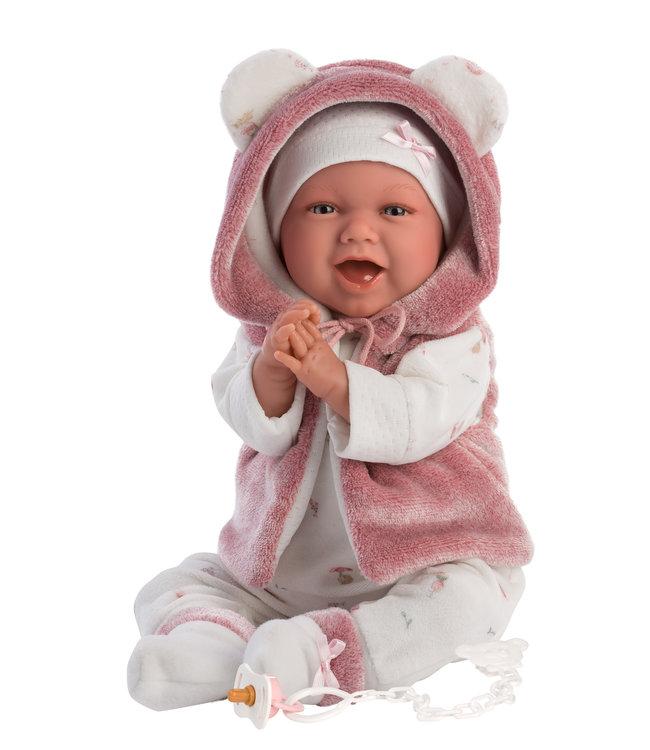 LLORENS   Baby Chanel met bodywarmer