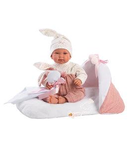 LLORENS   Baby Dior met knuffeldoekje