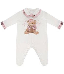 "BALLOON CHIC | Pyjama "" LOVELY BEAR "" - Wit"
