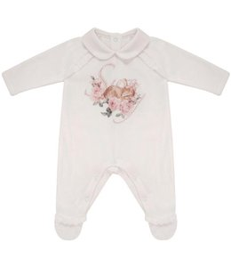 "BALLOON CHIC | Pyjama "" SWEET BAMBI "" - Wit"