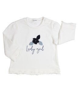 "GYMP | Longsleeve ""LOVELY GIRL"" - Off-white"
