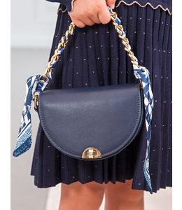 ABEL & LULA | Handtasje in imitatieleder - Blauw