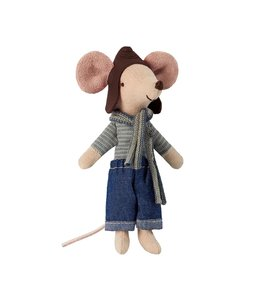 MAILEG | Maileg Racer grote broer muis - 13 cm
