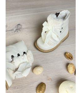 ELI BY CUCADA  | Boots met imitatiebont - Wit