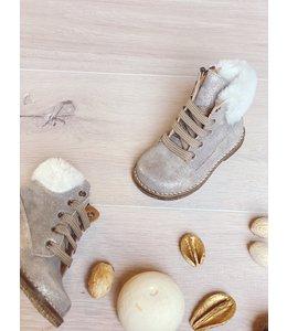 ELI BY CUCADA  | Boots met imitatiebont - Goud
