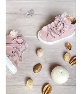 ELI BY CUCADA  | Sneaker met imitatiebont - Roze