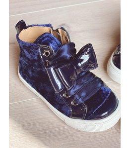 ELI BY CUCADA  | Sneaker met strik - Marineblauw