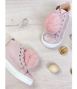 ELI BY CUCADA  | Sneaker met pompom - Roze