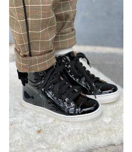 ELI BY CUCADA  | Sneaker met strik - Zwart