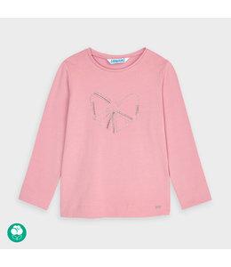 MAYORAL | Longsleeve met strikdetail - Roze