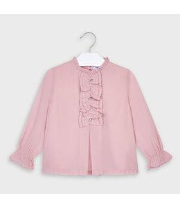 MAYORAL | Blouse met ruffles - Roze