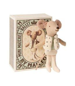 MAILEG | Maileg Kleine dans broer muis in doosje - 10 cm