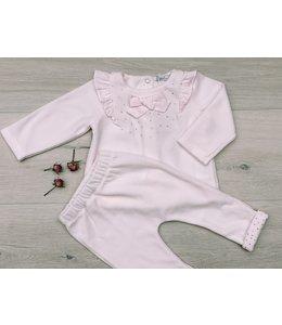 PATACHOU | 2-delig Set sweater& broek - Roze