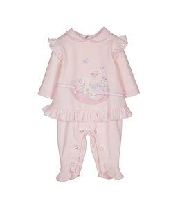 LAPIN HOUSE | Babypakje met bloemetjes - Roze