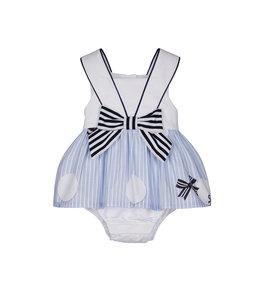 LAPIN HOUSE | Babypakje in marine thema - Blauw & Wit