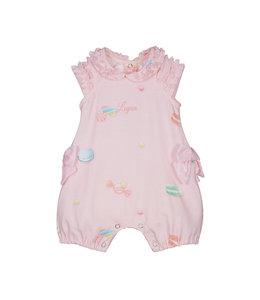 LAPIN HOUSE | Babypakje & haarlint in snoep thema - Roze
