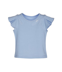 LAPIN HOUSE | T-shirt met siermouwen - BLAUW