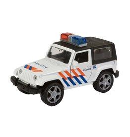 112 Politie 4x4 auto met licht/geluid