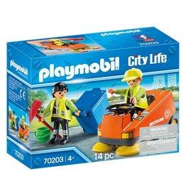 Playmobil Straatveegmachine - City Life