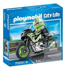 Playmobil Motorrijder - City Life