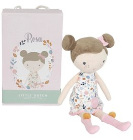 Little Dutch Little Dutch  LD 4521   Knuffelpop Rosa 35cm