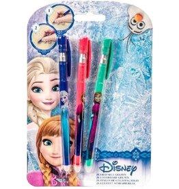 Frozen Frozen - Gelpennen Uitwisbaar 3St
