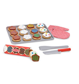 Melissa & Doug Wooden cookie set