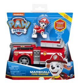 Paw Patrol Paw Patrol Basic Vehicle Marshall Fire Engine