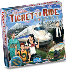 Days of Wonder Japan/Italy - Ticket To Ride