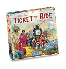 Days of Wonder Ticket To Ride India – Bordspel