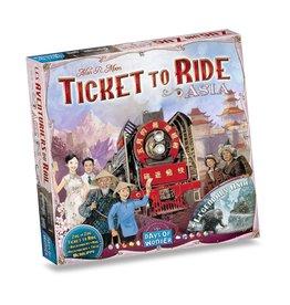 Days of Wonder Ticket To Ride Asia – Bordspel