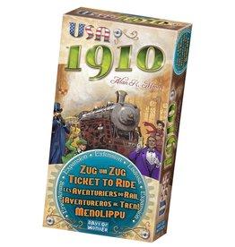 Days of Wonder Ticket To Ride USA 1910 Uitbreiding – Multilingual – Bordspel