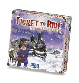 Days of Wonder Ticket To Ride Nordic Countries -  English – Bordspel