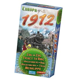 Days of Wonder Ticket To Ride Europa 1912- Multilingual – Bordspel