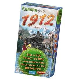 Days of Wonder Ticktet To Ride  -  Europa 1912- Multilingual