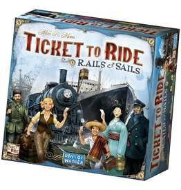 Days of Wonder Ticket To Ride Rails & Sails EN – Bordspel