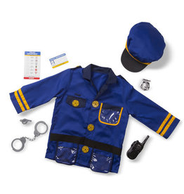 Melissa & Doug Police Officer Role Play Set/ Politie Verkleedset
