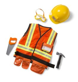 Melissa & Doug Construction Worker Role Play/ Bouwvakker Verkleedset